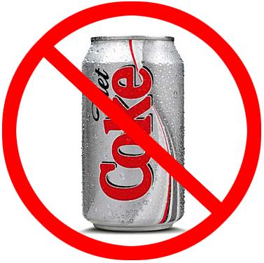 NO MORE DIET SODA